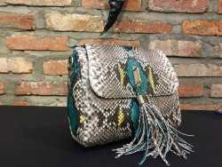 Clutch and bag python