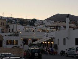Lovely rooftop restaurant