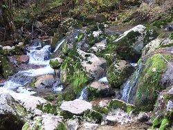 Reculee et Cascade de La Frasnee