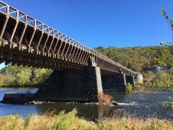 Roebling Aqueduct Suspension Bridge