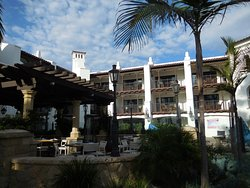 nice hotel on the beachfront