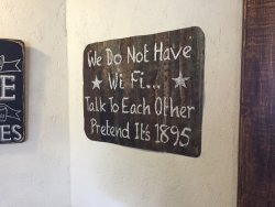 Great and sensible message to customers