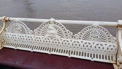 Detailing on pier seating
