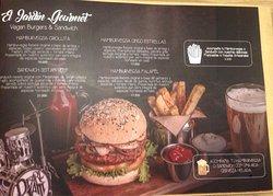 Caballete & Berenjena Vegan Burgers
