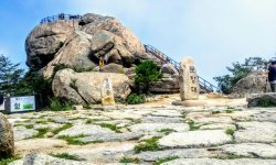 Munjangdae Peak of Songnisan National Park