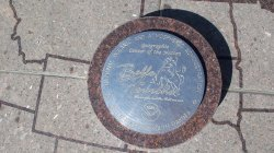 The Spot commemorating the Center of the Nation