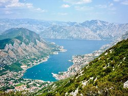 Viewing Point at the Road Kotor-Lovcen
