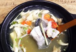 Traditional Thai Fish Soup
