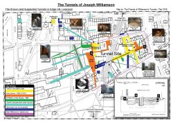The known and suspected tunnels of Joseph Williamson – Updated Feb 2016 by FoWT