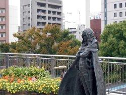 Captain Harlock Statue