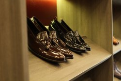 Goodyear welted Tassel loafer