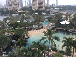 Level five ocean view. Good view of the pool but not so much ocean. Request a higher floor if yo