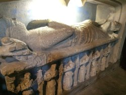 Tomb/monument of Norman Knight from 1270 - Crusader
