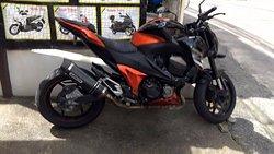 Ann & John - Station Motorbike For Rent