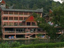 Hongxiagu River rafting