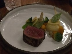 deer as main course : super!