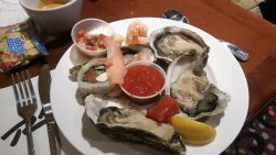 Seafood Upgrade to Carnival World Buffet.