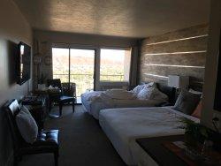 Clean remodeled room
