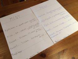 AAbrekk Gard menu
