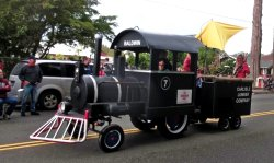 King Agriculture Museum parade float 2017