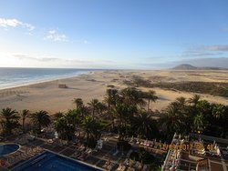 Nice hotel, amazing location on the best beach I have found this side of the Atlantic!
