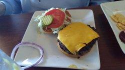 Basic RT burger.