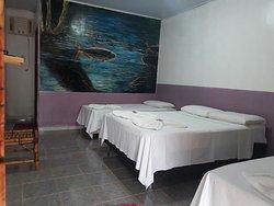 Apartamento quadruplo com tv, ar condicionado , wi fi ,banheiro