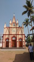 Port Kollam Church - New church in the name of Our Lady of Purification