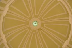 dome at the lobby