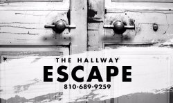 Call or email with any questions. Info@thehallwayescape.com
