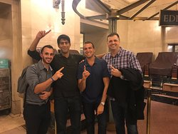 Our winning team who also beat Secret City's fastest time ever with a perfect score of 100!