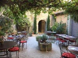 The gorgeous courtyard!