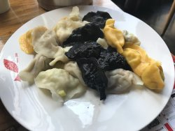 Live seafood and dumpling