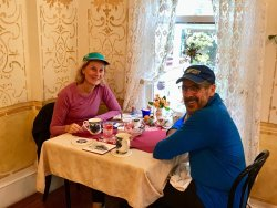 Happy Inn Guests. Fall in New Hope, Pa. is an especially spectacular season to stay at Wedgwood