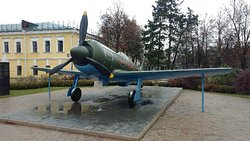 Monument to Fighter Aircraft La-7