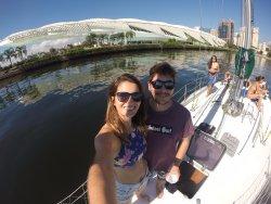 Nossos clientes curtindo o visual do Rio de Janeiro a bordo do Boat Trip RJ