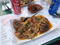 This was a Bacalhau Cozido. Excellent delicious