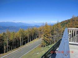 Fuji Subaru Line Osawa Carpark View Point
