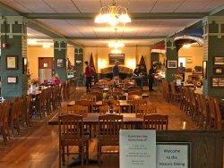 Potawatomi Inn Historic Dining Room