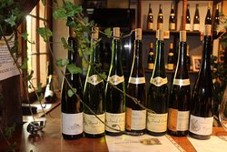 une sélection de vins à gouter