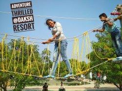 Adventure Thrilled @ Daksh Resort