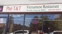 Pho T&T Vietnamese Restaurant in Port Coquitlam