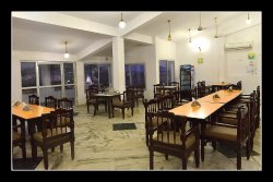 restaurant at Narmada resort