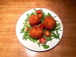 Beignets de Mozzarella Di Bufala DOP !