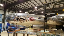 The B-29 Bomber on display