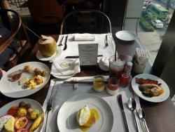 breakfast at Saigon Kitchen
