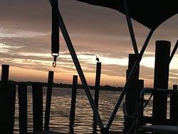 Sunrise at Cabbage Key Dock