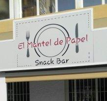 El Mantel De Papel Restaurante