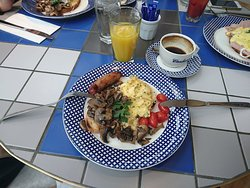 A porkin' good breakfast