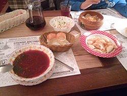 Φθηνη& ποιοτικη ρωσικη κουζινα